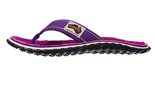 Purple Islander Signed Red Gumbies Unisex Flip Flops Manly Canvas Hw6fwg