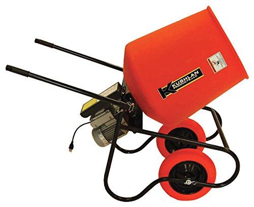 Wheelbarrow Mixer, 3.5 cu ft, 115V, 3/4HP