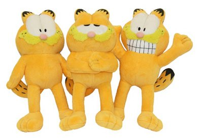 10 Garfield Dog Toy by Multi Pet