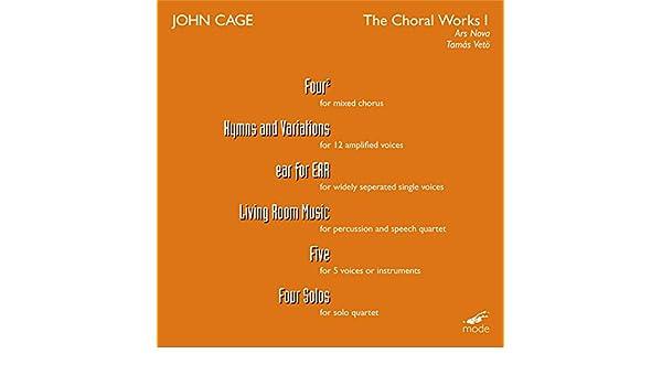 John Cage Living Room Music