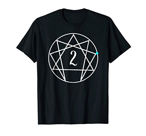 Enneagram Two The Helper Cute Gift Tee Shirt Yoga Mediation