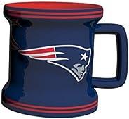 NFL Mens NFL Sculpted Mini Mug, 2-Ounce