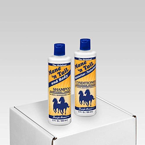 Mane 'n Tail Original Body Shampoo & Moisturizer Texturizer Conditioner Set 12 oz ea (Pets Cap Retriever Golden)