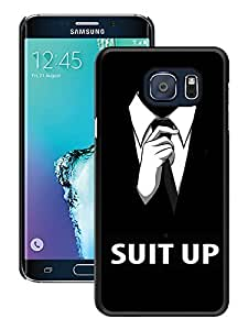 barney stinson black for Samsung Galaxy S6 Edge Plus Phone Case