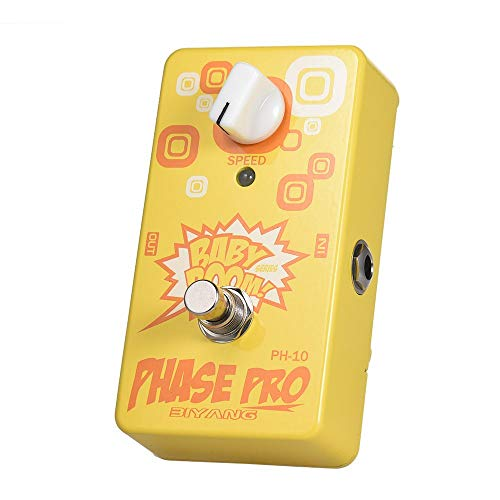 (BIYANG Phase Pro Guitar Effect Pedal PH-10 BABY BOOM Series True Bypass Full Metal Shell)