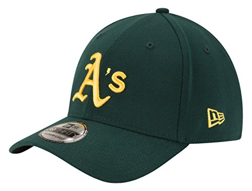 - New Era Men's MLB Team Classic 39THIRTY Stretch Fit Cap Road, Green, Small/Medium