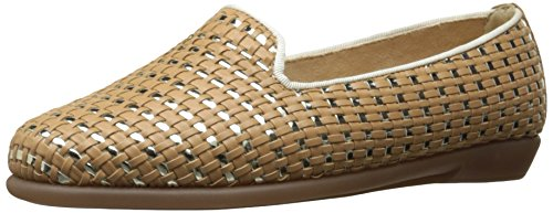 Aerosoles Women's Betunia Slip-On Loafer, TAN, 9 M US