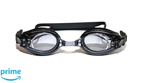 59765cf13c Gafas de natación ópticas de alta calidad para adultos, color negro,  cristales Plus UV tintados: Amazon.es: Deportes y aire libre