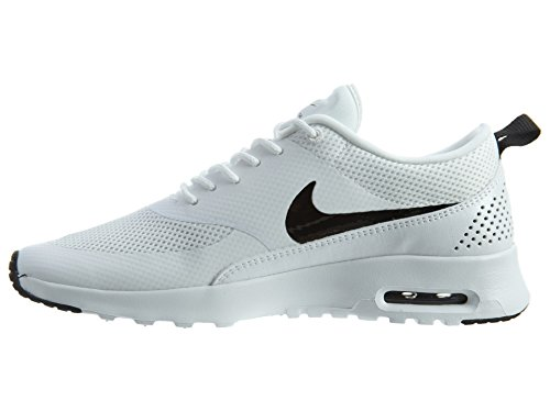 Nike Air Max Thea Damen Laufschuhe Elfenbein (White/black)