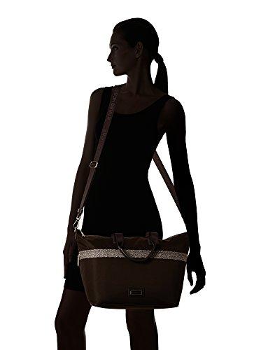 Borbonese, Borsetta da polso donna marrone marrone scuro