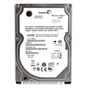 Seagate Momentus 5400.3 80GB UDMA/100 5400RPM 8MB 2.5