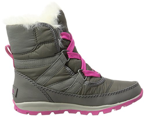 Sorel Youth Whitney Short Lace Boot Quarry/Pink Ice (4.5 Big Kid) by SOREL (Image #6)