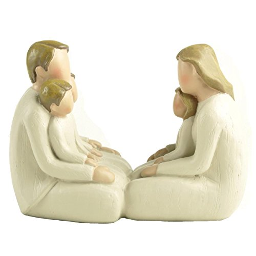 """ENNAS 3.75"""" H Happy Faceless Family of Five Figurines Collectibles Home Decor/Tabletop Gifts"""