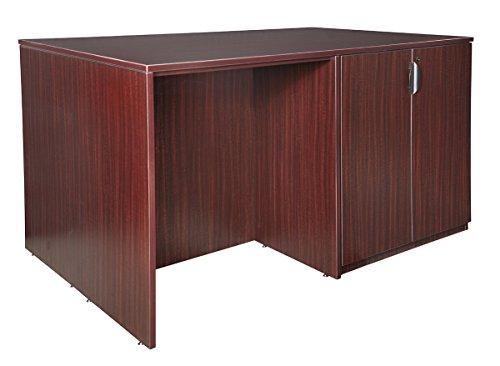 Regency Seating Legacy Stand Up Storage Cabinet/Desk Quad, Mahogany ()