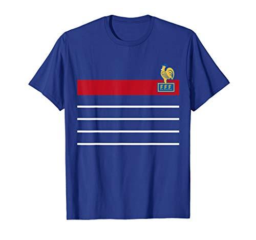 (France Soccer Jersey Vintage French 1984 Retro)