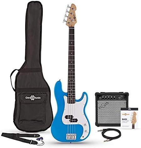 Paquete de Bajo LA con Amplificador de 15 W Blue: Amazon.es ...