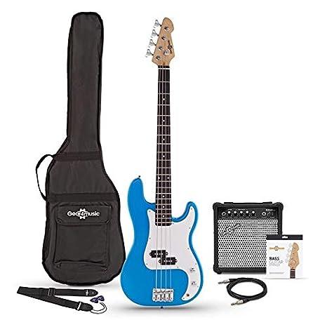 Paquete de Bajo LA con Amplificador de 15 W Blue
