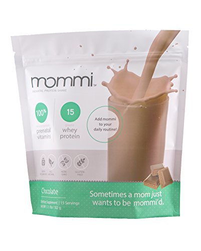 Mommi - PreNatal Protein Shake - Chocolate Powder | OB/GYN Recommended Protein & Prenatal Vitamin Blend | All Natural, Non GMO, Non Toxic & Gluten Free Ingredients | Essential Health for Mom & Baby (Best Smoothies For Pregnancy)