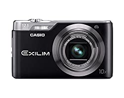 Casio Exilim Ex-h5bk 12mp Digital Camera With 10x Zoom With Ccd Shift Stabilization & 2.7 Inch Lcd (Black)