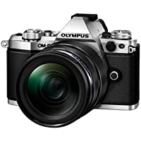 Olympus OM-D E-M5 Mark II Mirrorless Camera (Black) with M. Zuiko Digital ED 14-150mm Lens