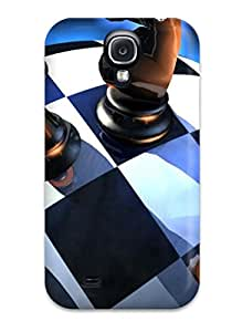 Tpu ZippyDoritEduard Shockproof Scratcheproof Awesome Miscellaneous Digital Art Chess Hard Case Cover For Galaxy S4