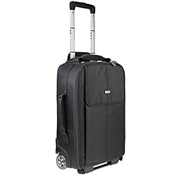 Image of Airport Advantage Rolling Carry-On Camera Bag - Black Camera Cases