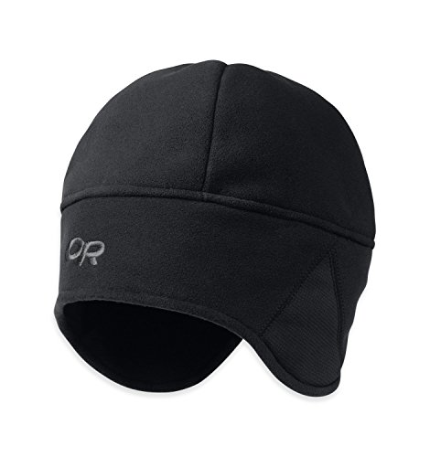 Outdoor Research Wind Warrior Hat, Black, Large/X-Large
