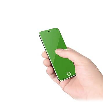 Javpoo Mini Tarjeta Teléfono móvil Ultra Delgado 3.3MM ...