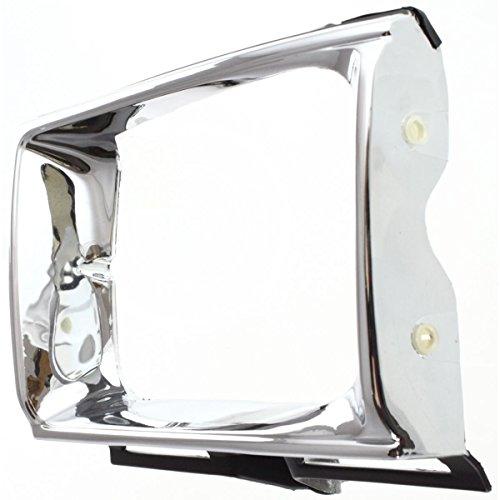 Diften 630-A0255-X01 - New Headlight Door/Bezel Chrome Truck Driver Left Side TO2512111 5313289120