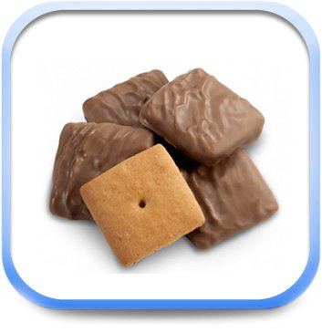 Graham Cracker Squares (GRAHAM CRACKER MINI SQUARES - 15Lbs)