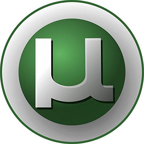Laminated 24X24 Poster  Torrent Utorrent Logo Bittorrent Software Application Client Windows