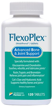 Flexoplex's Powerful Formula Naturally Rebuilds, Lubricat...