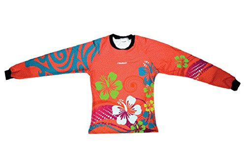 Reusch Soccer Women's Maui Garden Pro-Fit Goalkeeper Jersey, Coral Pink, - Jersey Garden