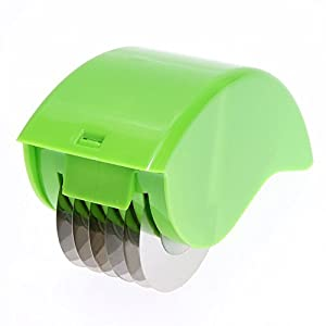 Rolling Mincer Slicer Manual Cutter for Herbal Scallion
