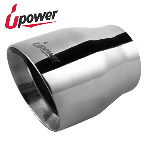 Polished Stainless Steel Double Wall Exhaust Tip 3