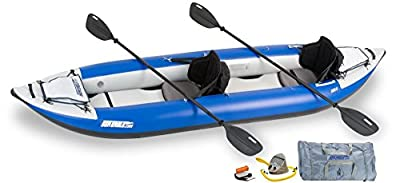 "380XK_P Sea Eagle Explorer Inflatable Kayak with Pro Accessory Package, 12' x 6"" from SeaEagle"