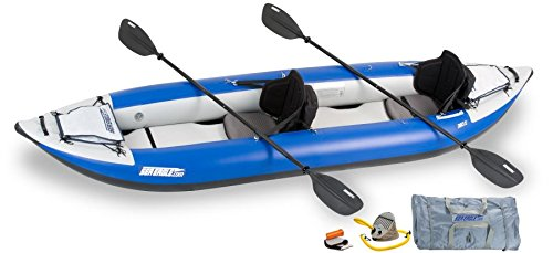 Sea Eagle Explorer Inflatable Kayak with Pro Accessory Package, 12' x 6