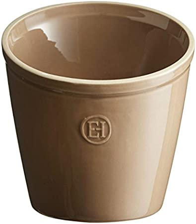 Emile Henry Eh320218 Pot /à Ustensiles C/éramique Orange Brique 14 X 14 X 16 cm