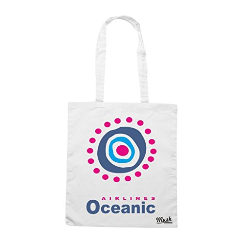 Borsa Oceanic Airlines Lost - Nera - Film by Mush Dress Your Style