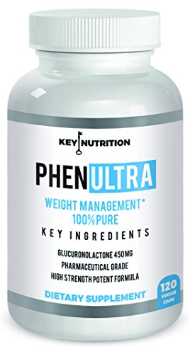Phenultra - Pharmaceutical Grade Rapid Weight Loss Aid- Metabolism Boosting Diet Pills- Supports Fast Fat Loss ! by Key Nutrition