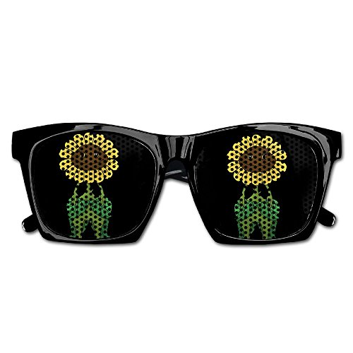 Elephant AN Themed Novelty Plants Vs Zombies Sunflower Creative Visual Mesh Sunglasses Fun Props Party Favors Gift - Vs Sunglasses