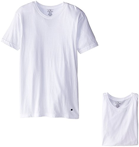 Lucky Brand Men#039s 3Pack Crew TShirt White XLarge