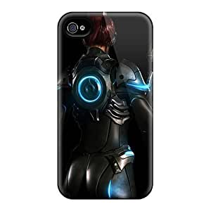 New AfJ7578xGeo Starcraft Ghost Skin Cases Covers Shatterproof Cases For Iphone 4/4s