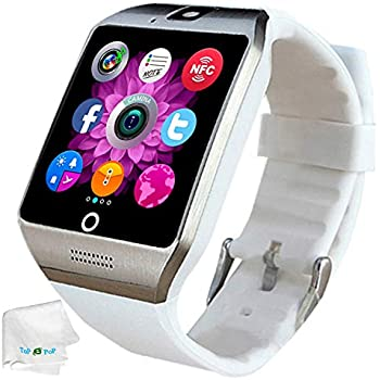 Bluetooth Smart Watch SIM Card Slot Camera Smartwatch Sports Fitness Tracker Wristwatch Compatible with Women Men Girls Boys Android Phones Samsung Galaxy ...