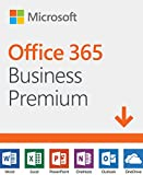 Microsoft Office 365 Business Premium | 12-month subscription, 1 person, PC/Mac Download