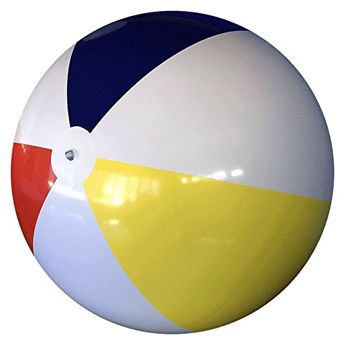 10-FT Deflated Size Traditional P7 Beach Ball by Beachballs