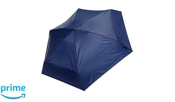 Knirps Compact Manual Open/close Travel Umbrella - Plegable unisex, azul marino (azul) - 815-NVY: Amazon.es: Ropa y accesorios