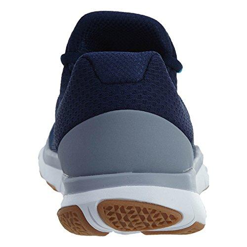 Nike Menns Gratis Trener V7 Treningssko Binær Blå / Hvit-blå Raseri-breen Grå