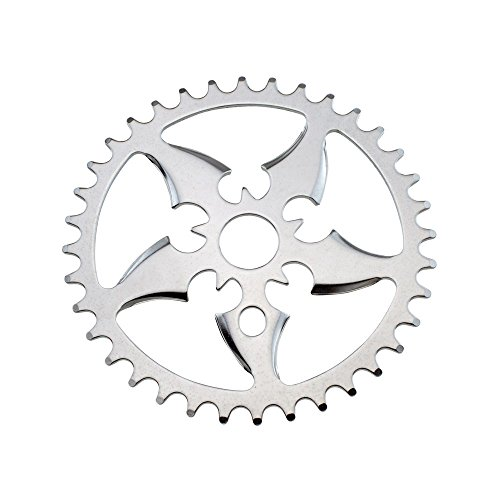 Sprocket Tip (Fenix Tip Bike Sprocket/Chain Ring Chrome, Various Sizes (36 Teeth))
