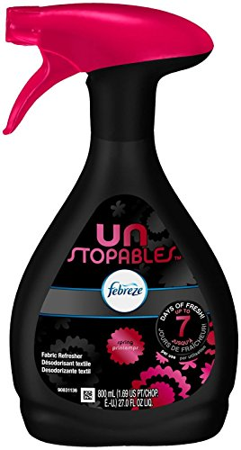 Febreze Unstoppables Spring Fabric Refresher (1 Count, 27 Oz), 1.77 - Fabric Gamble Refresher